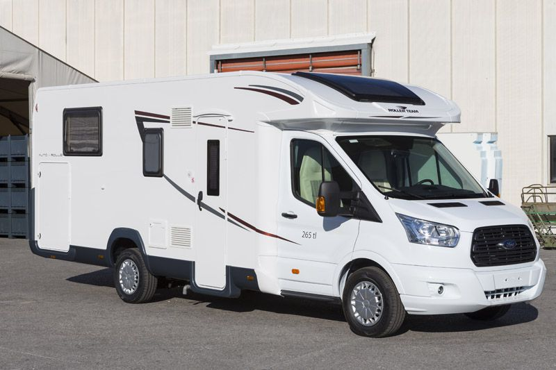 www.locationdecampingcar.be - Roller team performance 265 tl, un camping-car 4 à 5 personnes pratique et manoeuvrable